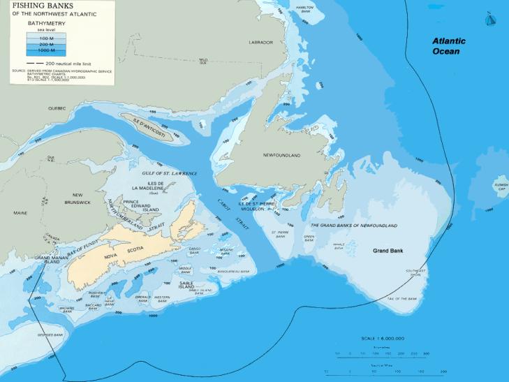 Atlantic Region Map #2