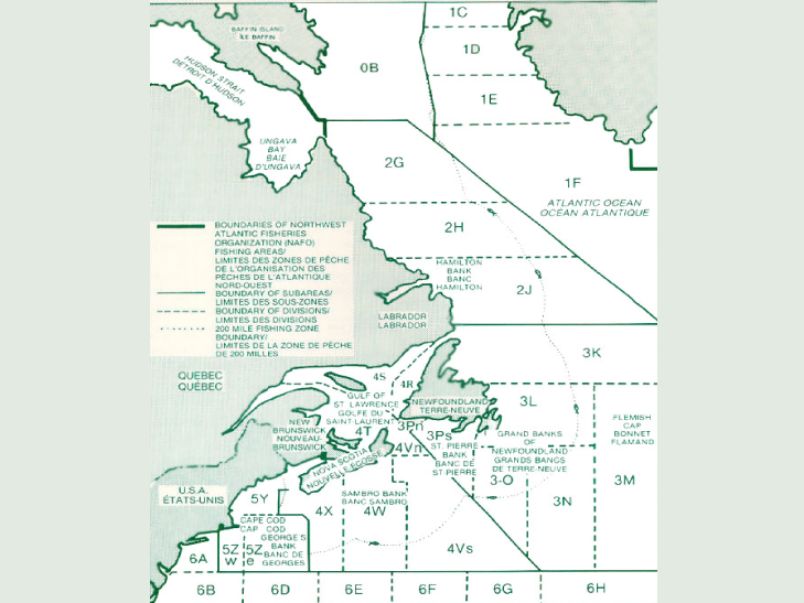 Atlantic Region Map #1
