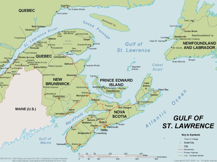 The Gulf Map
